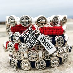 TOGETHER WE STAND ONE NATION UNDER GOD Wear this bracelet on your wrist to remind yourself that God has given you a mission to make the world a better place.