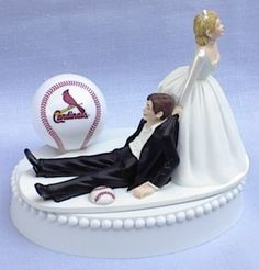 St. Louis Cardinals Cake Topper.  a variation on hitting a guy over the head with a club?  What do you think, @Cynthia Hall?