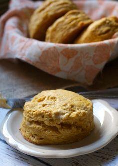 Spiced Pumpkin Buttermilk Biscuits