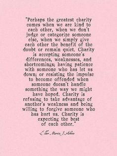 Charity