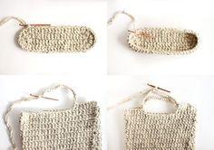 FREE crochet pattern : sturdy market tote // Delia Creates