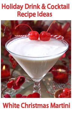 White Christmas Martini #MezzettaMemories