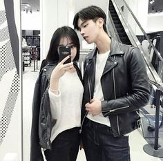 รูปภาพจาก We Heart It #asian #korea #korean #ulzzang #ulzzangcouple #asianpale