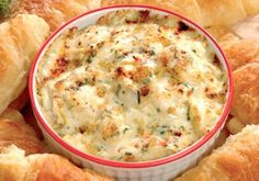 This is the one that I've been looking for!  Cajun Delights: Spicy Cajun Seafood Dip. YES!