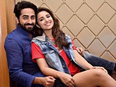 Ayushmann Khurrana and Parineeti Chopra wish their fans a Happy Durga Puja from the sets of their movie 'Meri Pyaari Bindu'. Check it out here.