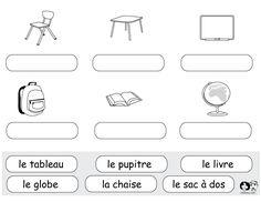 Learning Italian Like Children Italian Lessons, French Lessons, Spanish Lessons, Learn Spanish, Spanish Worksheets, School Worksheets, Worksheets For Kids, French Teacher, Teaching French