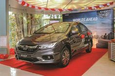 Feature-rich Honda City ZX in high demand, Waiting period for top-spec City close to three months.  #hallmarkhonda #hondacity2017 #city17 Source: Autocar India