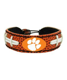 Take a look at this Clemson Classic Football Bracelet - Adults by GameWear on #zulily today!