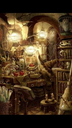 Pin by Froggypocket on Art Fantasy art Art Kitchen witch
