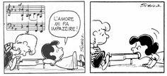 Peanuts, Lucy e Schroeder