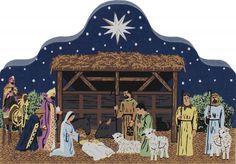 Pennsylvania Dutch Nativity