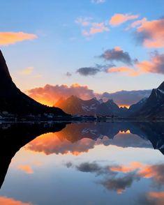 Lofoten, Norway, Traveling, Wanderlust, Vacation, Adventure, Mountains, Sunset, Landscape