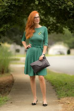 Turning Heads Linkup-Karina Dress- A New Favorite: The Katharine  #over40style