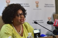 'The realities of climate change are upon us', says Mokonyane // Day Zero. Cape Town Town Water Crisis by Michael Badrock