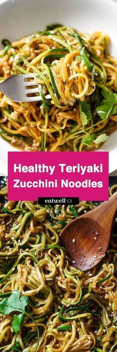 Get your fat-burning zucchini noodles ready in 20 minutes or less and 100% gluten-free. With just a handful of ingredients you have a delicious, healthy and effortless dinner for a busy weeknight.I… http://healthyquickly.com http://healthyquickly.com/55-healthy-recipes-salads-haters/