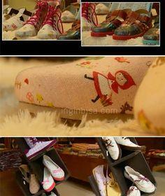 Bagaimana Cara Membuat Sepatu Berbahan Kain Linen