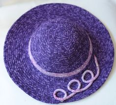 Coiled rope Sun Hat pattern by BatikBaskets on Etsy