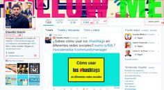 pagina de perfil de twitter