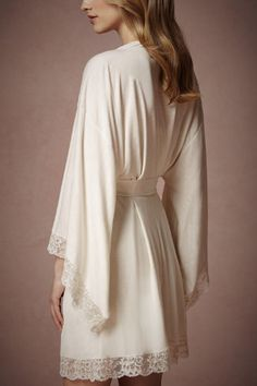 The morning off...Ethereal Kimono Robe
