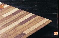 Laminado imita madeira filetada