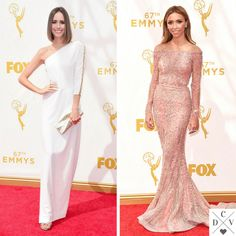 Louise Roe and Giuliana Rancic at the #Emmys!