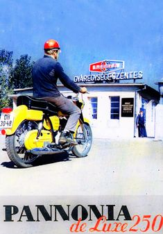 pannonia de luxe 250 Bsa Motorcycle, Motorcycle Posters, Moto Bike, Car Posters, Motorcycle Design, Restaurant Pictures, Bike Poster, Old Motorcycles, Classic Bikes