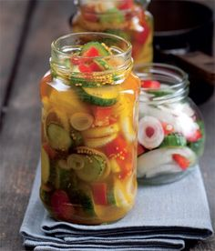Salty Foods, Chow Chow, Health And Nutrition, Preserves, Pickles, Cucumber, Menu, Vegetables, Recipes