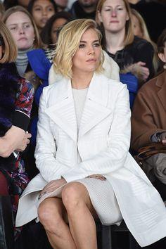 Sienna Miller at Calvin Klein
