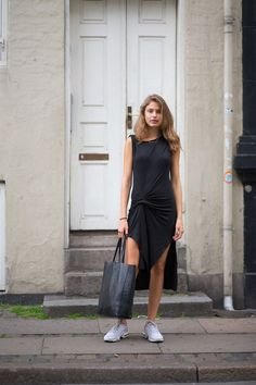 Girls and Bikes: Copenhagen Street Style - HarpersBAZAAR.com