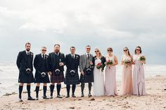 Bonny bridesmaids on a bonny beach in a bonny country with the most awesome bride & groom and a beach load of strapping Kilts!  . . . . #bridetobe #bridestory #brideandgroom #wedding #weddinglove #shesaidyes #scottishwedding #bridesmaids #weddingdress #weddingdressinspiration #bridesmaiddress #livethelifeyoulove #kilt #groomtobe #alternativebride #alternativeweddingphotographer #weddingphotography #lovewhatido #lovescotland  @seamillhydrohotel @starn67 @slaytorius