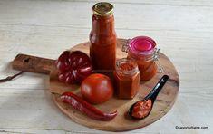 Ketchup de gogoșari sau ardei kapia - rețeta de ketchup ușor picant | Savori Urbane