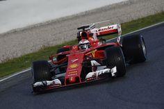 Ferrari take top spot again on the final day of pre-season testing