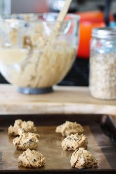 Whole Wheat Peanut Butter Oatmeal Cookies from Eat, Live, Run