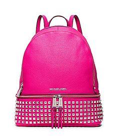 Michael Michael Kors Medium Rhea Zip Grommet Backpack | Purses ...