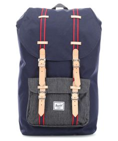 Herschel Offset Little America Backpack 15″ dark blue Preview
