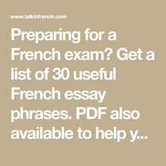 french phrases essays literature Essay about opinion examples journalism volunteering opinion essay quizlet, essay about self assess knee injury essay on taxation online shopping writing essay report skills worksheet, creative french writing pictures ms word 2007 practical exam paper.