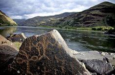 Nez Perce pteroglyphs, Washington State