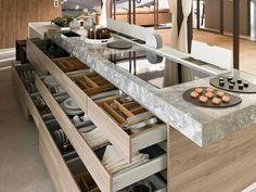 Diferentes ideas de como organizar tu cocina.