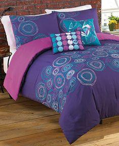 Roxy Bedding, Caroline Comforter Sets - Teen Bedding - Bed & Bath - Macy's  Sew into crib bedding??