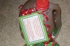 Candy Gram or Small Gift - Sayings to go with small tokens or gifts for many different occasions.