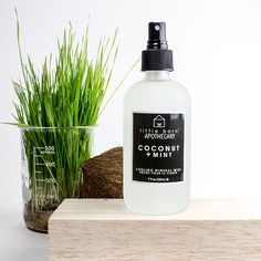 Coconut + Mint Cooling Mineral Mist.