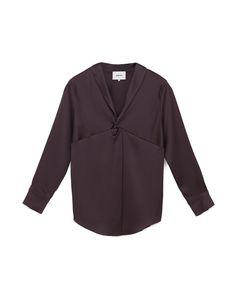 TAI - Satin shirt -Java Scarf Knots, Satin Shirt, Java, Blouse, Model, How To Wear, Shirts, Tops, Style
