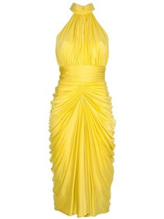 ALEXANDER MCQUEEN 'Marilyn' Halter Dress... LIKE!