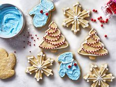 Every good Christmas cookie needs some good icing - we recommend pairing this with our Iced Shortbread Cookies, but it's good on sugar cookies as well Sugar Cookie Recipe For Decorating, Best Christmas Sugar Cookie Recipe, Chocolate Sugar Cookie Recipe, Christmas Cookies, Christmas Baking, Christmas Recipes, Christmas Foods, Holiday Meals, Christmas Sweets