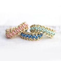 Double Chain bracelet DIY
