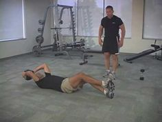 Mercola Peak Fitness: Abdominal Crunch With Rotation