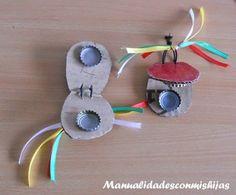 Instrumentos musicales para hacer con niños