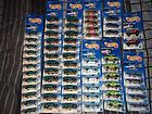 hot wheels lot of 63 common cars collection all new!