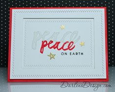 Overlapping sentiment and die using Brushstroke Christmas by Ellen Hutson.  Video tutorial included!