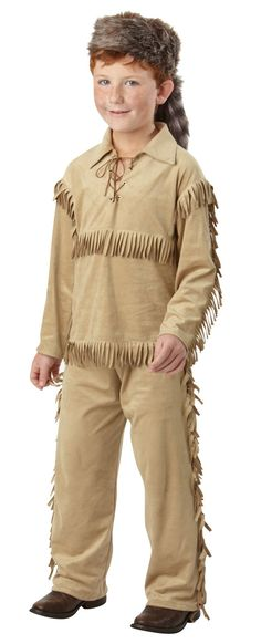 Frontier Boy Child Costume from BuyCostumes.com